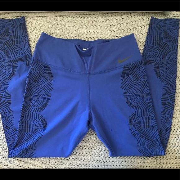 Nike Pants - Nike engineered tidal wave tights